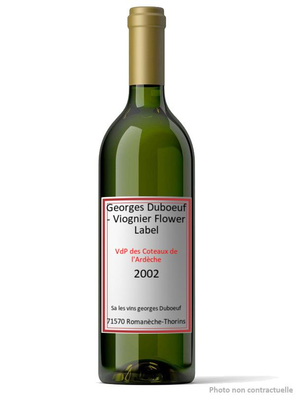 Georges Duboeuf - Viognier Flower Label 2002
